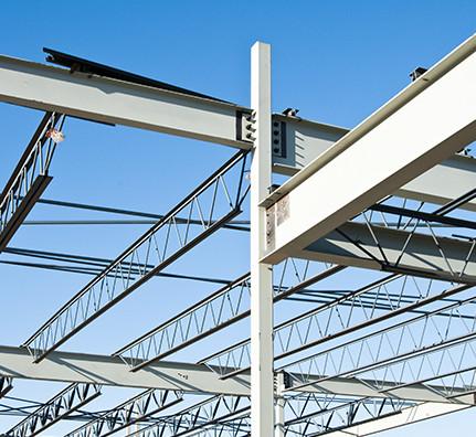 Poutrelles acier pour construction métallique